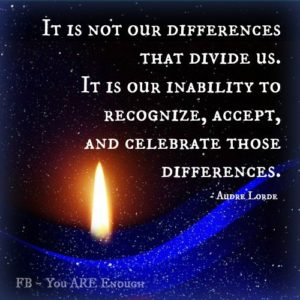 accepting differences
